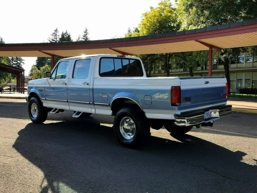 well maintained 1997 Ford F 250 XLT HD pickup