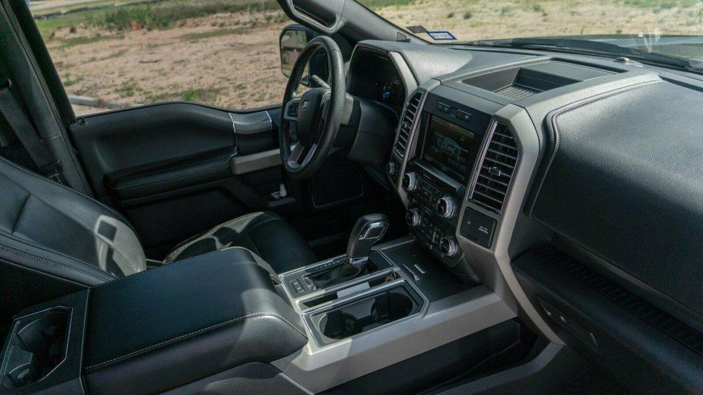 badass 2015 Ford F 150 Lariat pickup