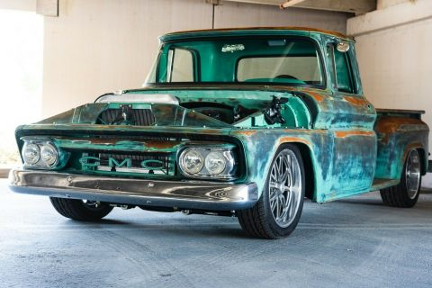 nice patina 1963 GMC pickup for sale