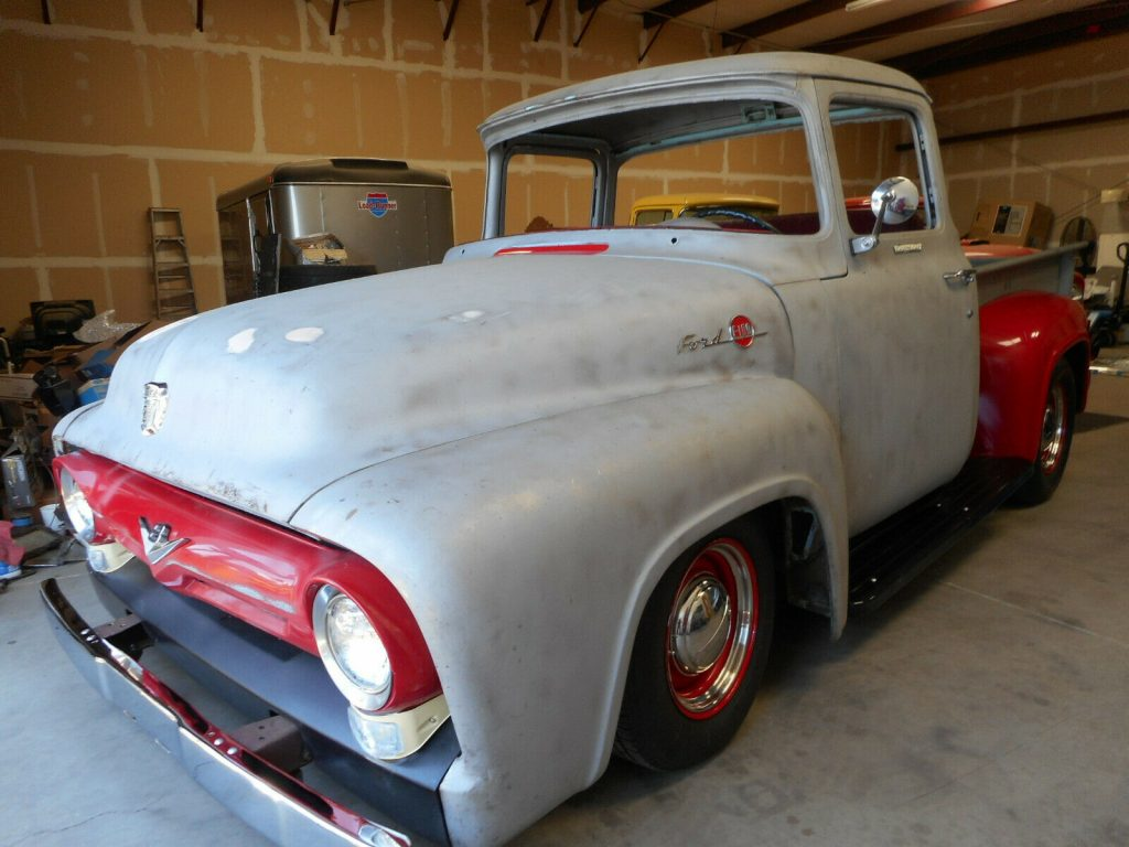 project 1956 Ford F 100 Big Window pickup