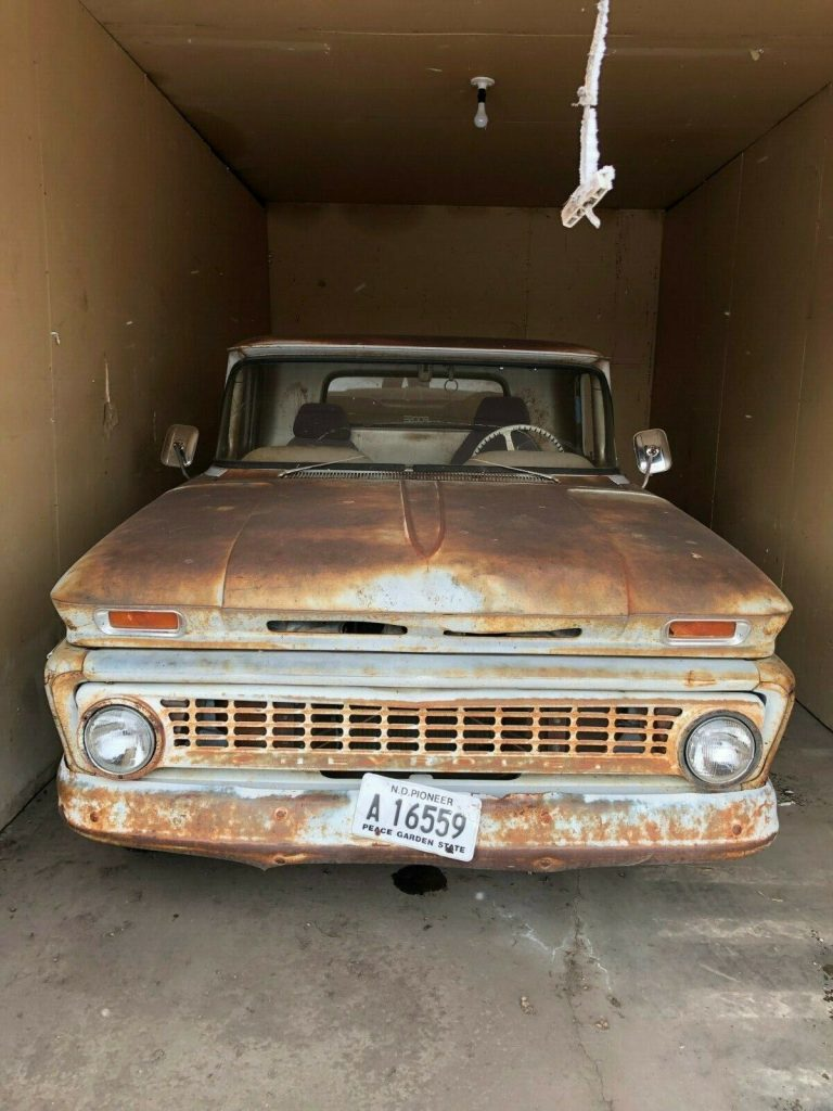 project 1963 Chevrolet pickup