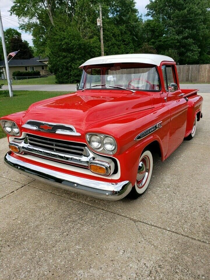 restored 1959 Chevrolet 3100 pickup