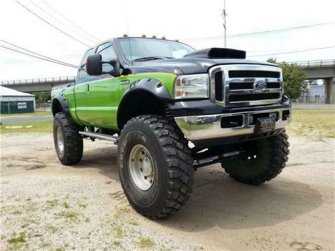 well modified 2006 Ford F 250 XL pickup for sale