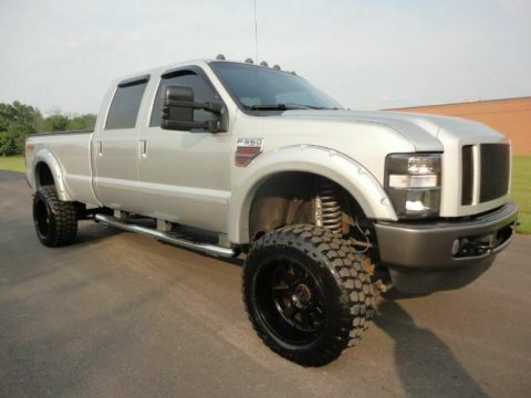 many upgrades 2008 Ford F 350 Super Duty pickup for sale