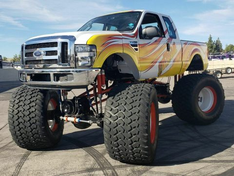 real monster 2008 Ford F 250 Overtime pickup for sale