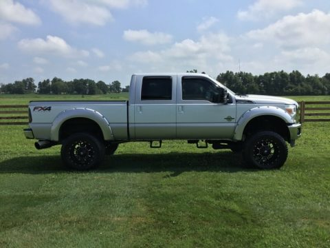 6 inch lift 2012 Ford F 250 Lariat Super Duty pickup for sale