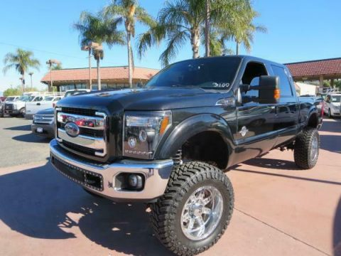 custom lift 2012 Ford F-250 LARIAT pickup for sale