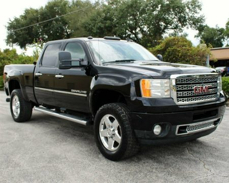 loaded 2011 GMC Sierra 2500 Denali pickup for sale