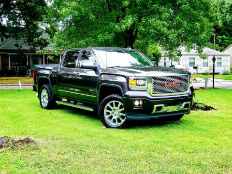 loaded 2015 GMC Sierra 1500 Denali pickup for sale