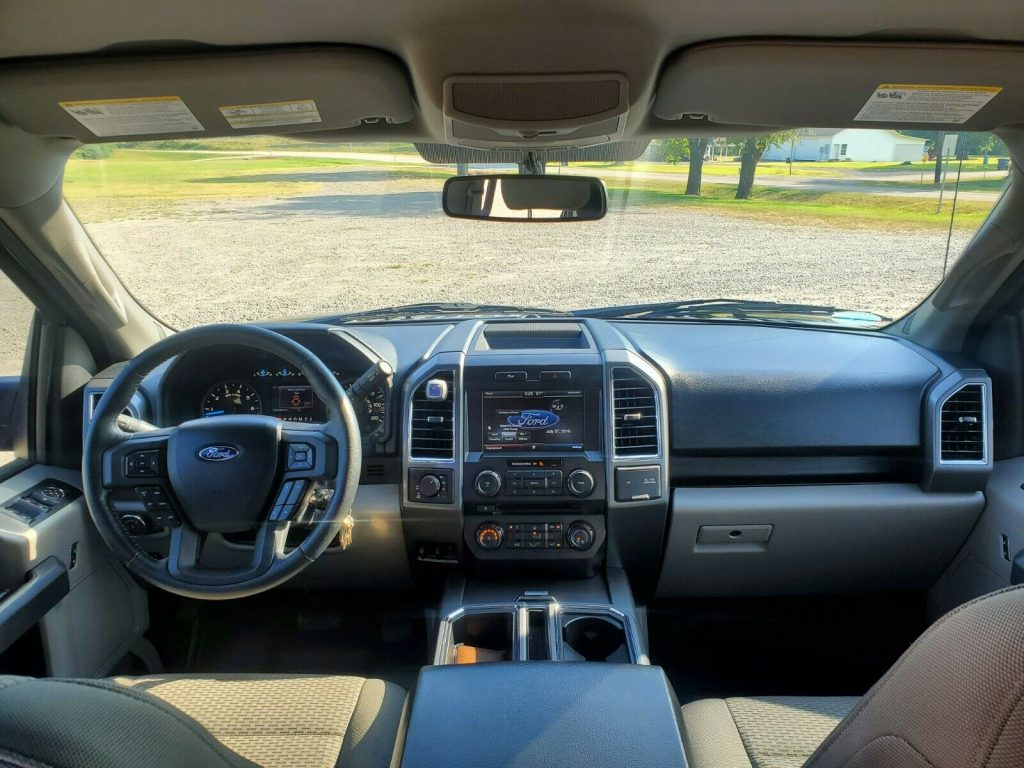 well serviced 2015 Ford F 150 pickup