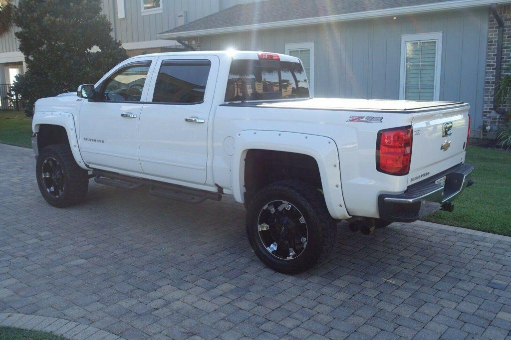 clean 2016 Chevrolet Silverado 1500 American Luxury Coach pickup