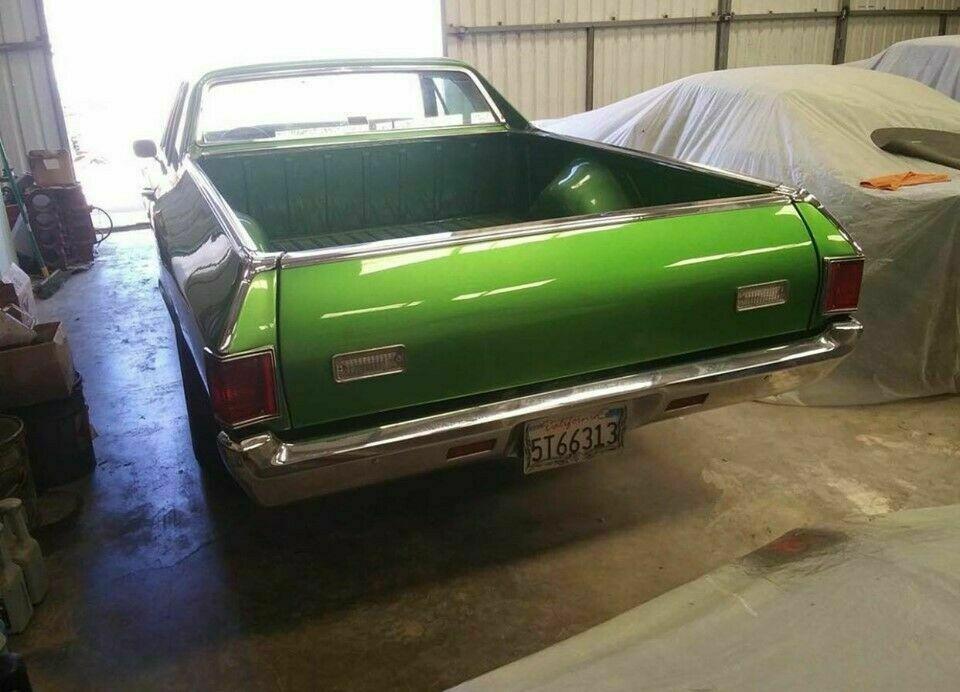 excellent 1971 Chevrolet El Camino pickup