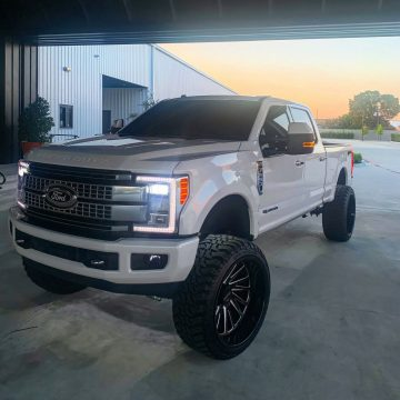 loaded with goodies 2017 Ford F 250 pickup for sale