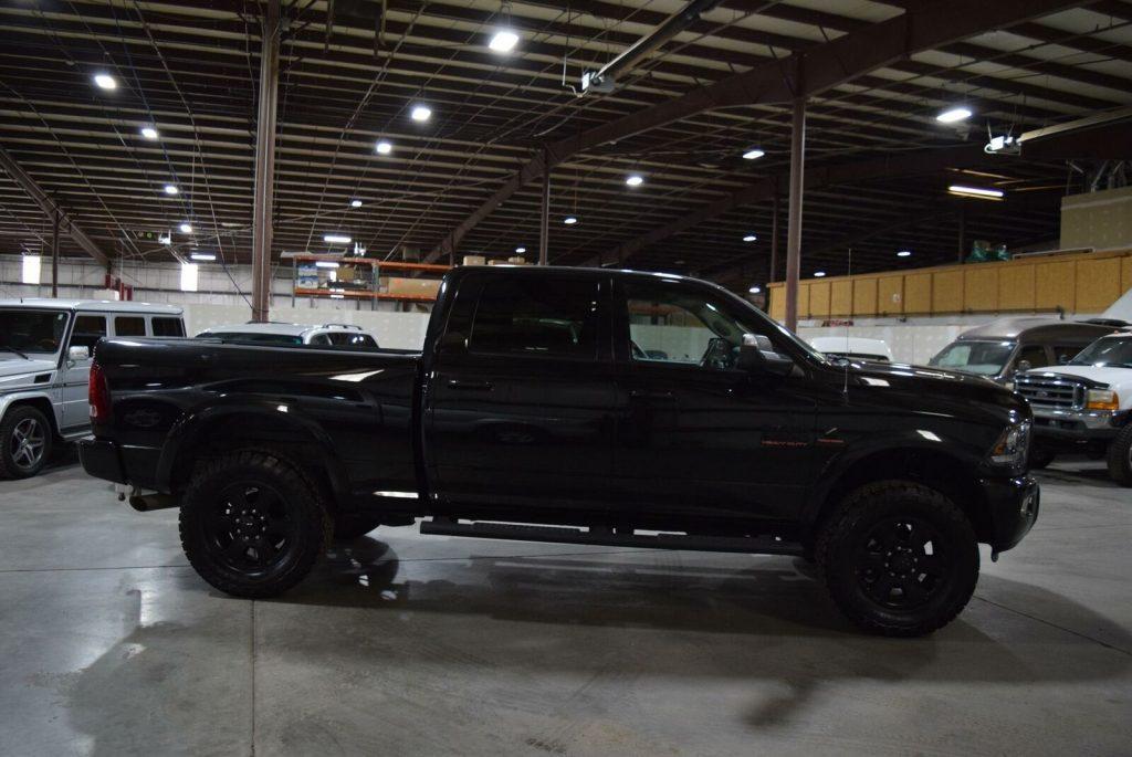 low mileage 2016 Ram 2500 Laramie pickup