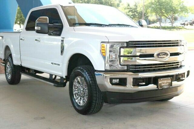 low miles 2017 Ford F 250 Lariat pickup