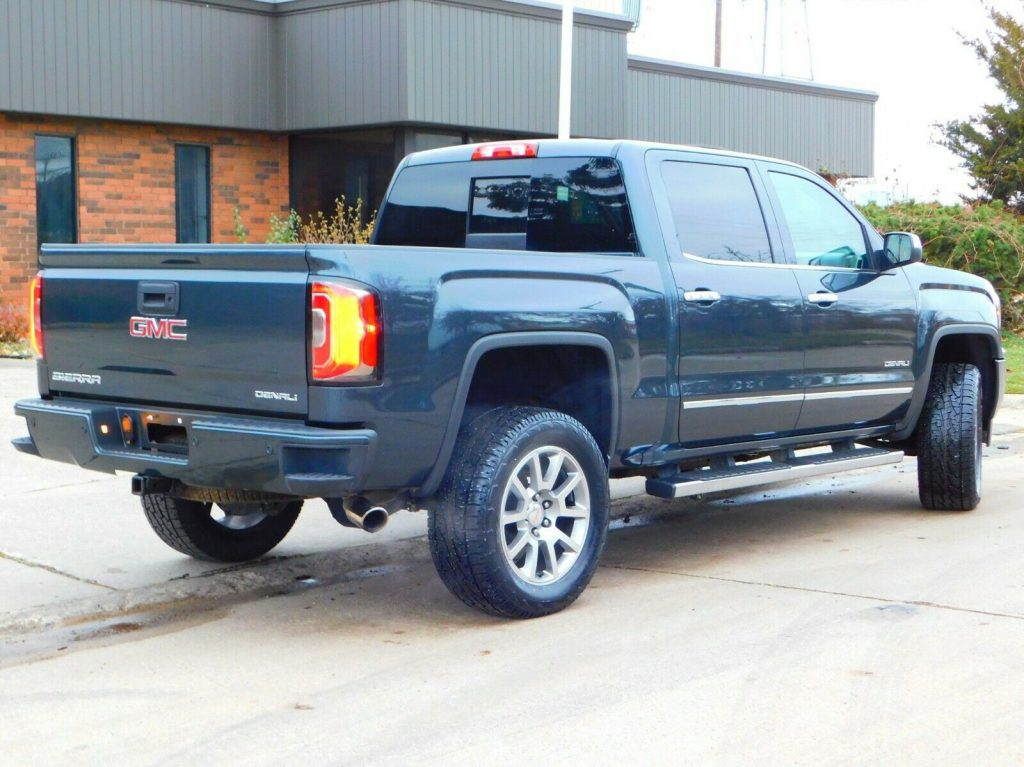 low miles 2017 GMC Sierra 1500 Denali Edition pickup