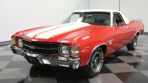 modified 1971 Chevrolet El Camino SS 454 pickup for sale