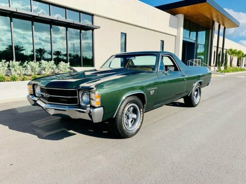 original colors 1971 Chevrolet El Camino pickup for sale