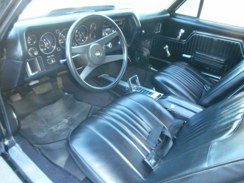 restored 1971 Chevrolet El Camino Super Sport pickup