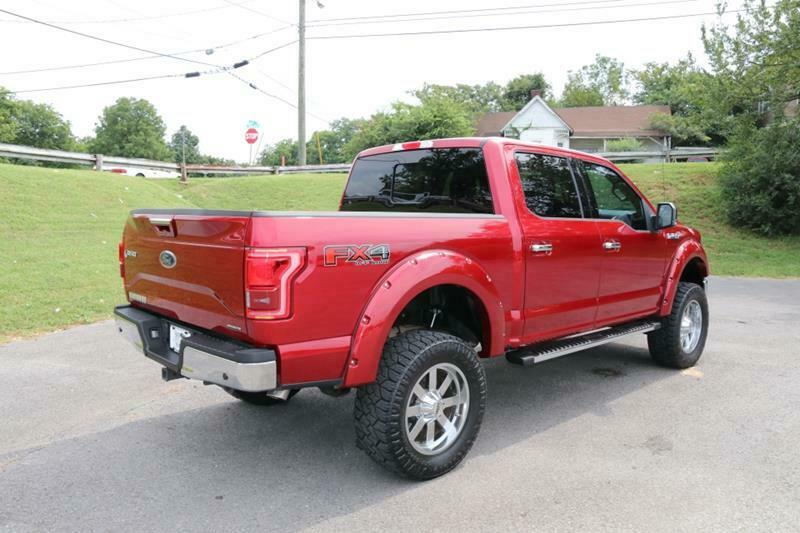 very low miles 2016 Ford F 150 Lariat Supercrew pickup