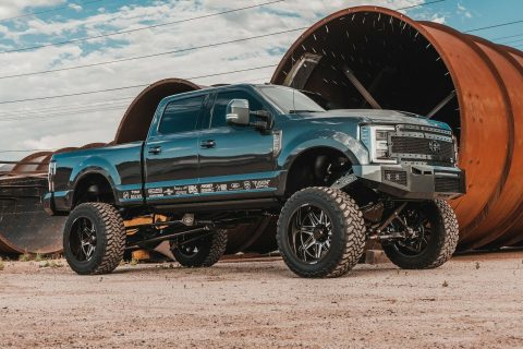well modified 2017 Ford F 350 Platinum pickup for sale
