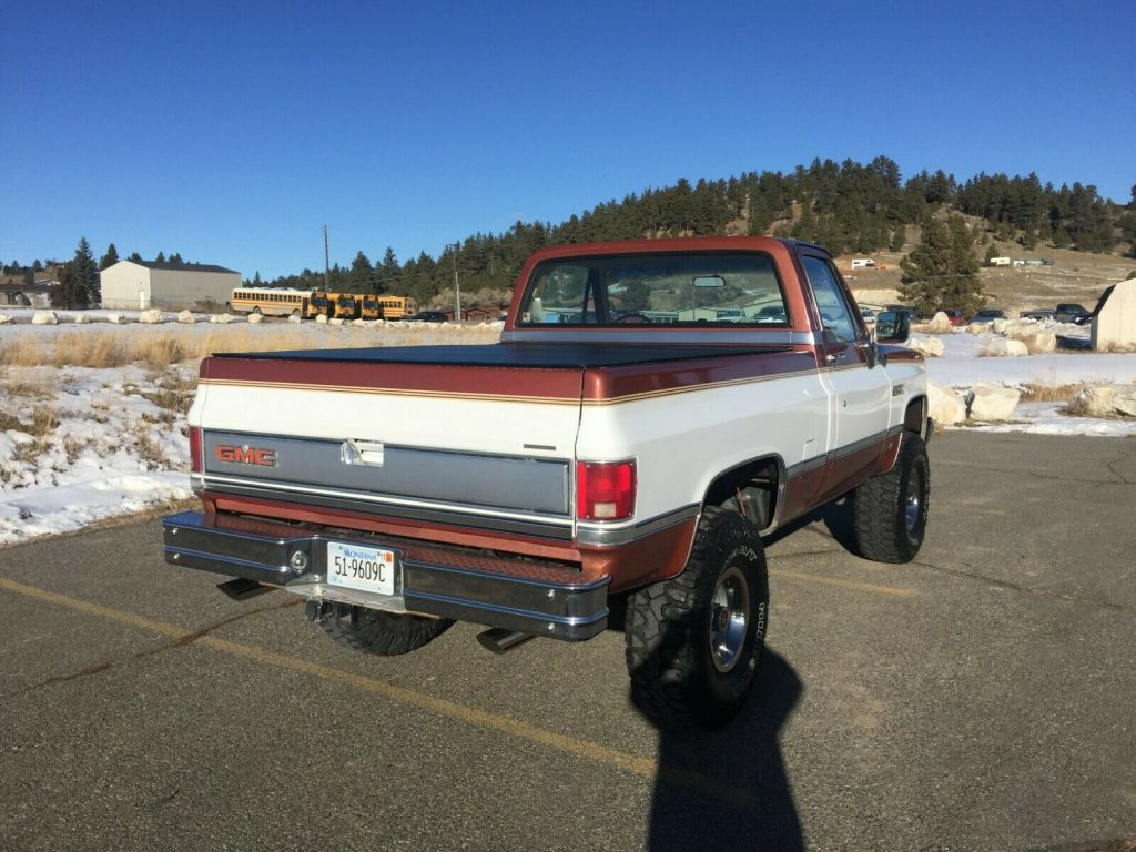 fuel injected 1987 Chevrolet C/K Pickup 1500 Sierra classic pickup