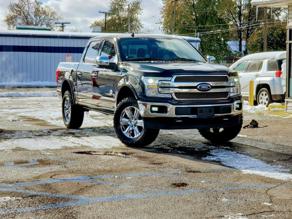 fully loaded 2018 Ford F 150 King Ranch pickup