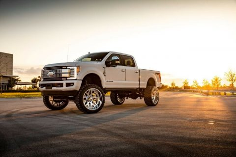 fully loaded 2019 Ford F 350 Platinum pickup for sale