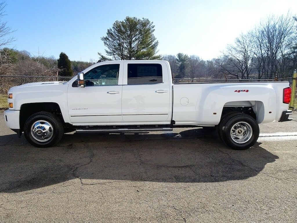 loaded 2019 Chevrolet Silverado 3500 LTZ pickup