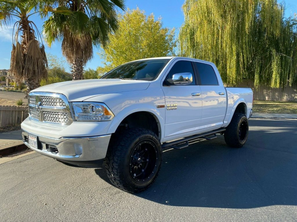 loaded and modified 2018 Dodge Ram 1500 pickup
