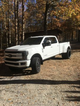 modified 2019 Ford F 350 Lariat Dually pickup for sale