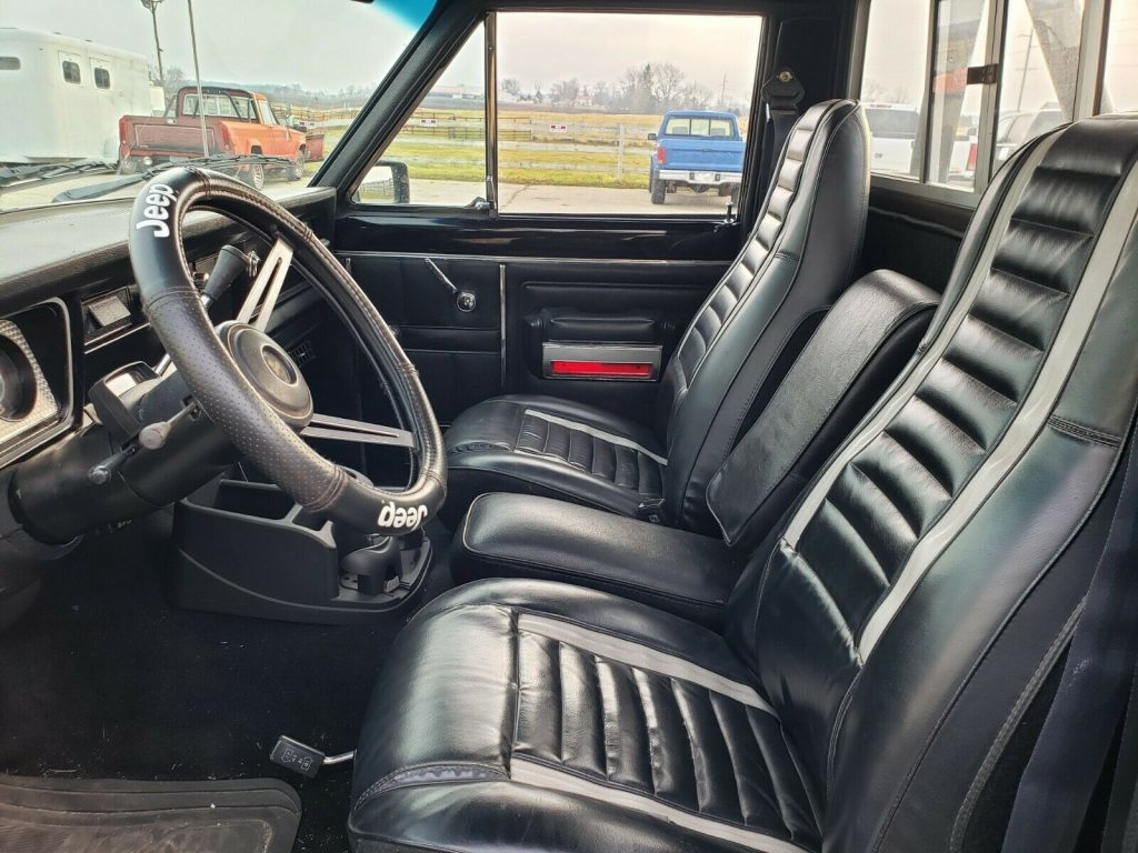 restored 1981 Jeep J10 Sportside pickup