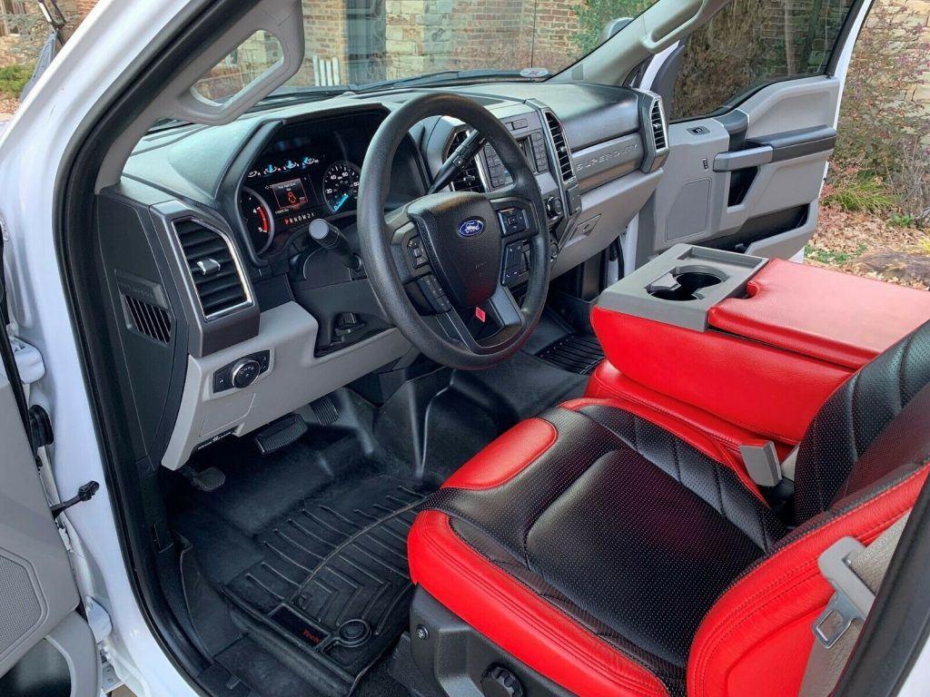 sharp 2018 Ford F 250 XLT pickup