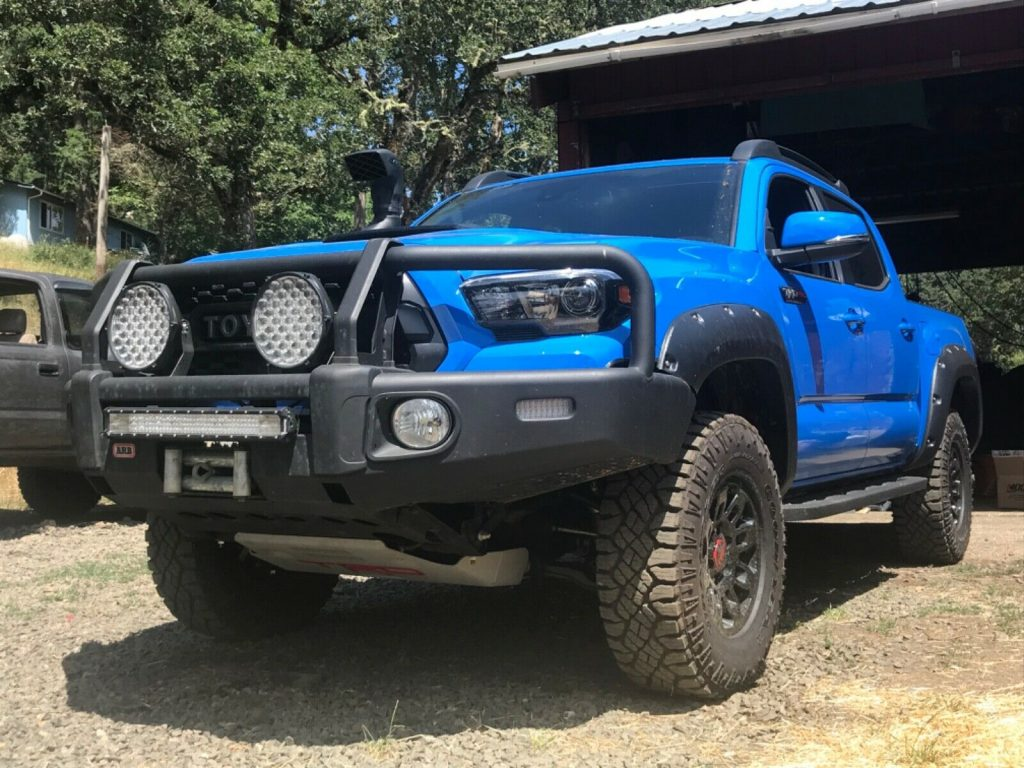 well modified 2019 Toyota Tacoma TRD Pro pickup