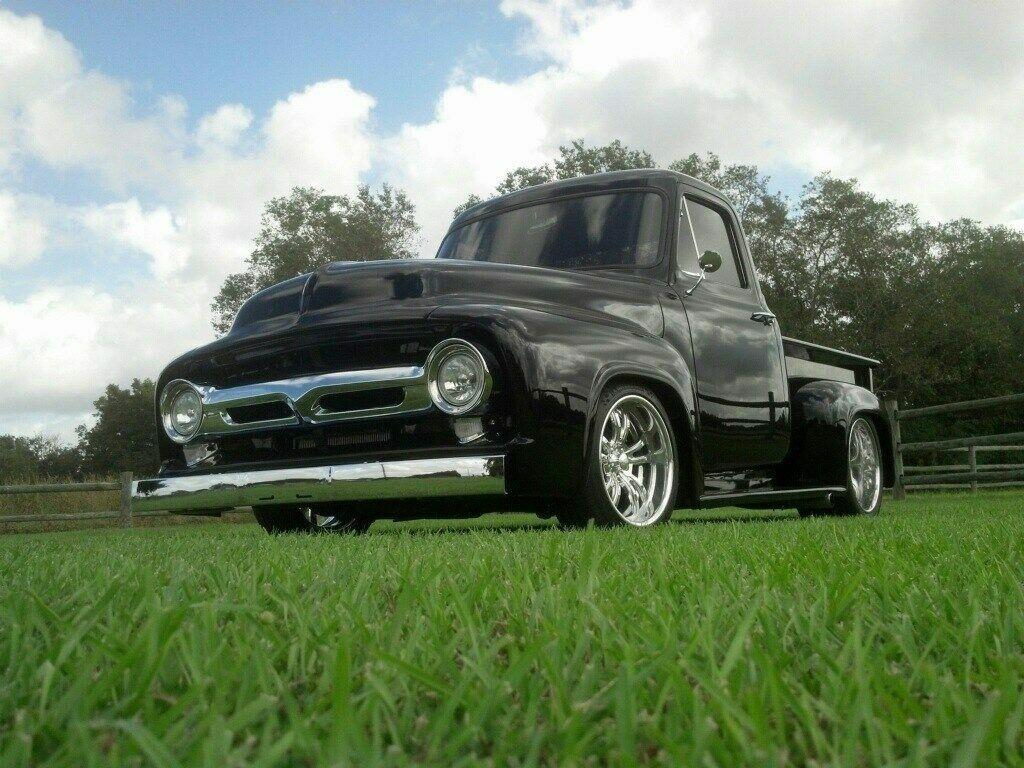 custom 1953 Ford F 100 pickup