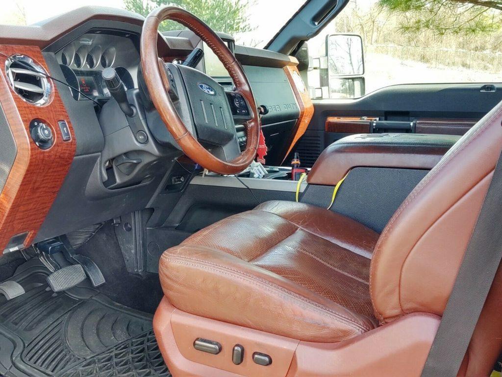 custom 2013 Ford F 350 Super DUTY king ranch pickup