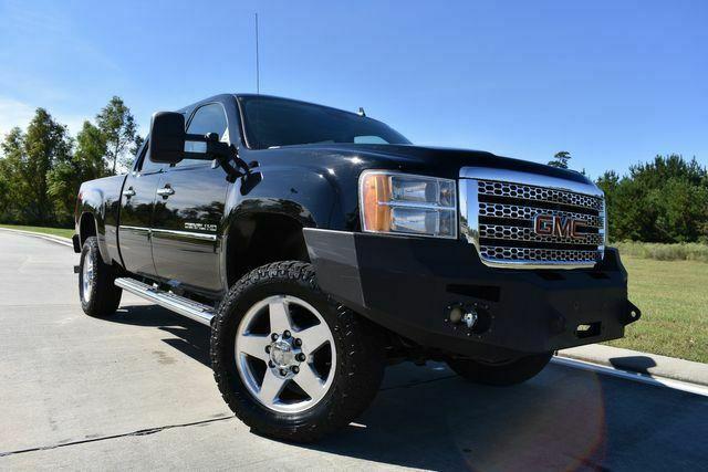 fully loaded 2012 GMC Sierra 2500 Denali pickup