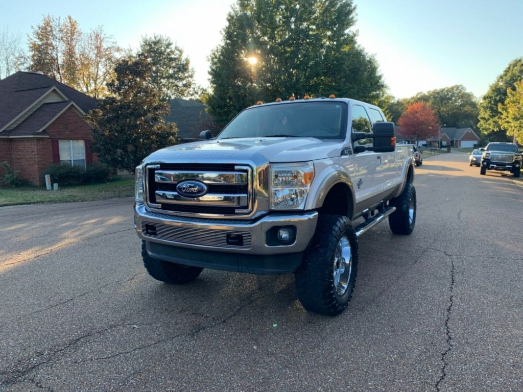 great shape 2011 Ford F 250 Lariat pickup