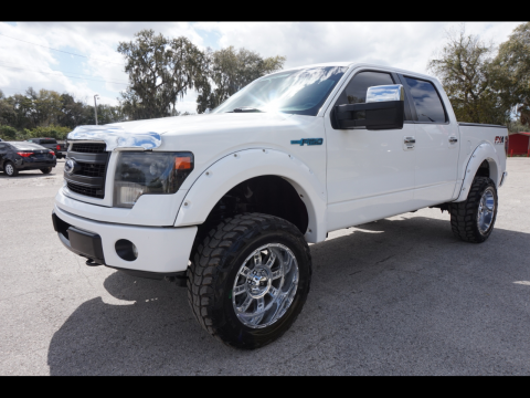 nice and clean 2013 Ford F 150 XLT Supercrew pickup for sale