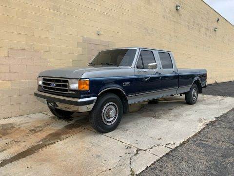 original shape 1989 Ford F 350 F 350 Long Bed pickup for sale