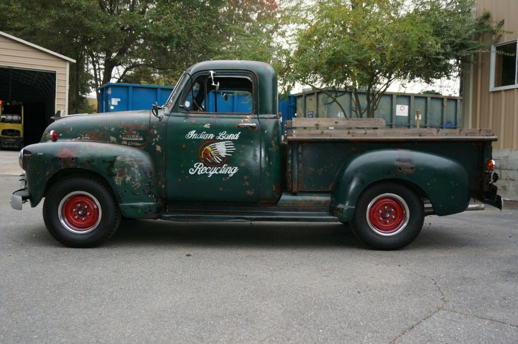 patina custom 1953 Chevrolet Pickup