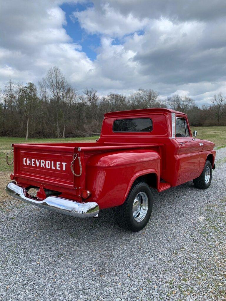 restored 1965 Chevrolet C 10 Custom pickup