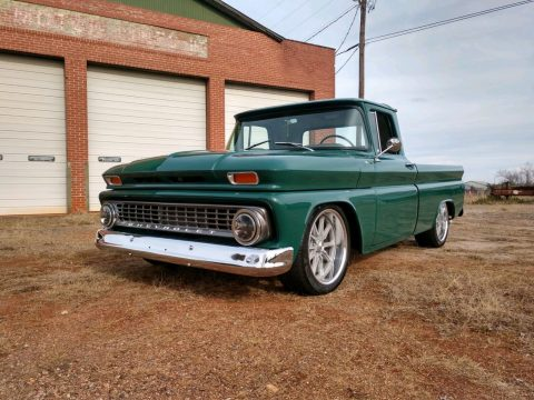 restored and modified 1963 Chevrolet C 10 FLEETSIDE pickup for sale