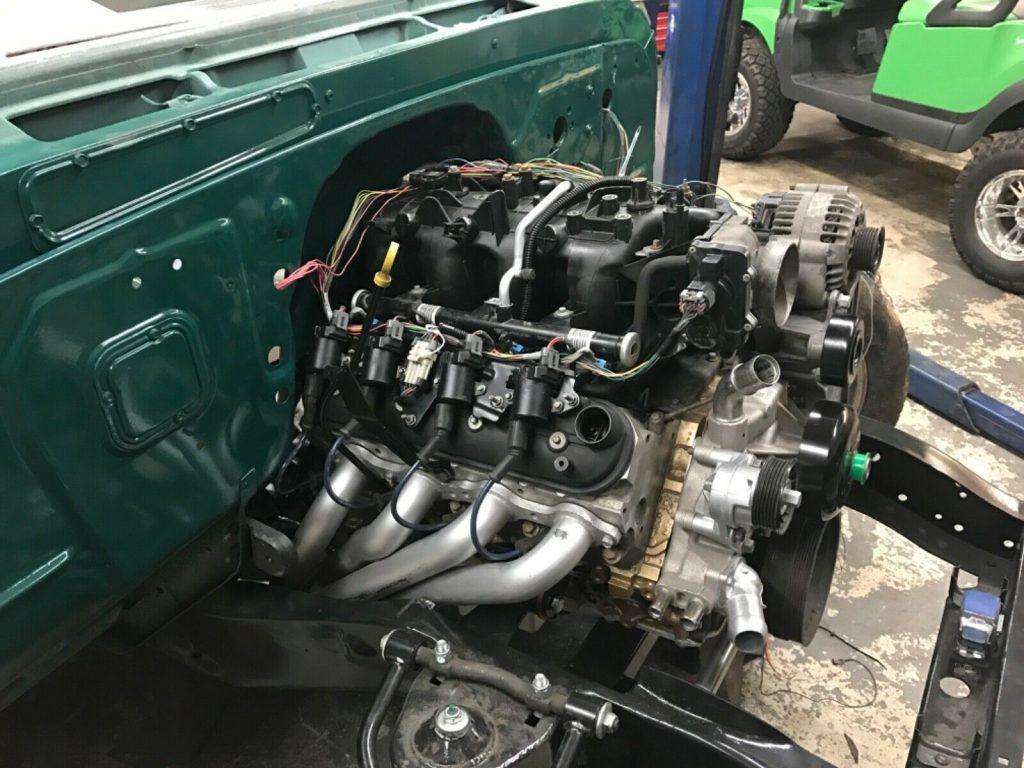 restored and modified 1963 Chevrolet C 10 FLEETSIDE pickup