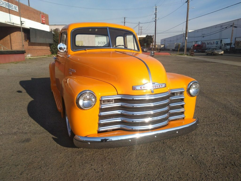 very nice 1951 Chevrolet Deluxe Pickup