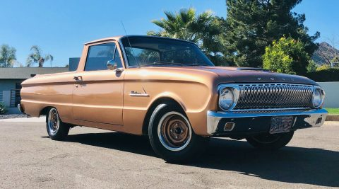 well modified 1963 Ford Falcon pickup for sale