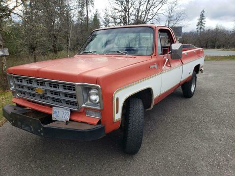 awesome daily driver 1977 Chevrolet Cheyenne pickup for sale