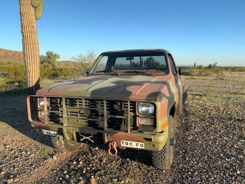 greyt shape 1986 Chevrolet 4×4 5/4 Ton M1008 CUCV pickup for sale