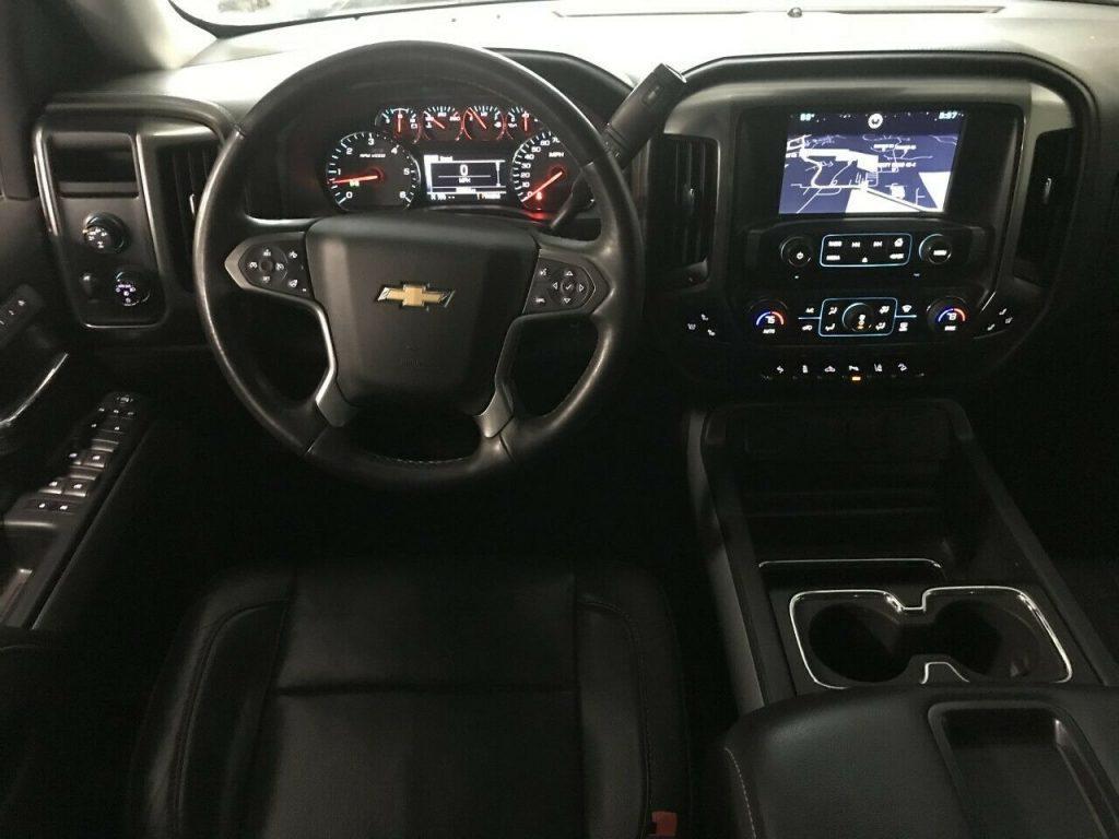 low miles 2015 Chevrolet Silverado 1500 Z71 Midnight EDITION pickup