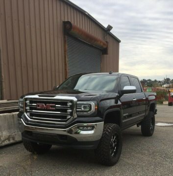 low miles 2016 GMC Sierra 1500 K1500 SLT pickup for sale